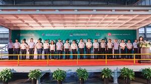 国能大丰H5#海上亚搏体育ios下载苹果项目升压站正式开工建造
